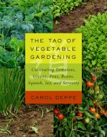 tao of vegetable gardening