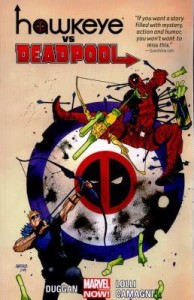 Deadpool versus Hawkeye