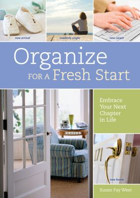 organize for a fresh start