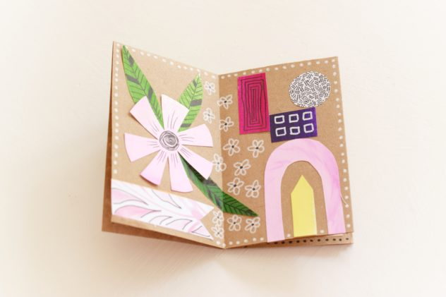 Book Craft Folded Note Book Info Cafe