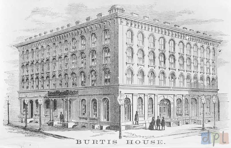 Burtis House, circa 1858