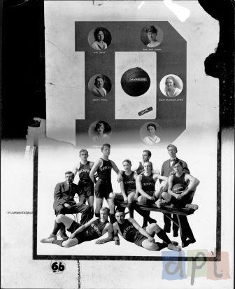Central Basketball, Circa 1918