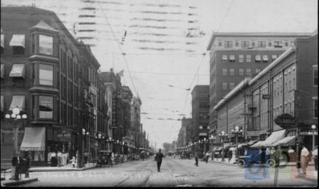 Brady Street circa 1914