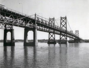 I-74 Bridge  cica 1965