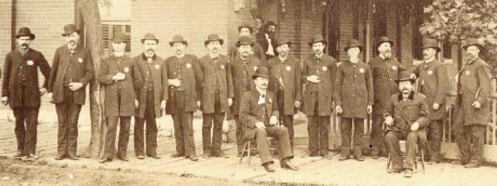 1894 Police Dept lineup