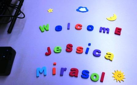 Welcome Jessica