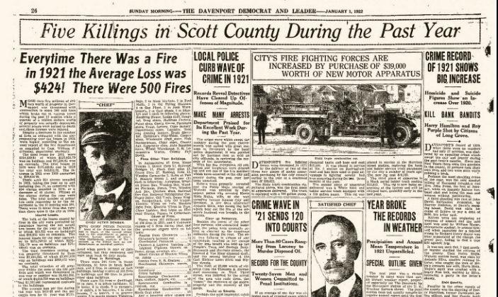 Headlines 1Jan1922