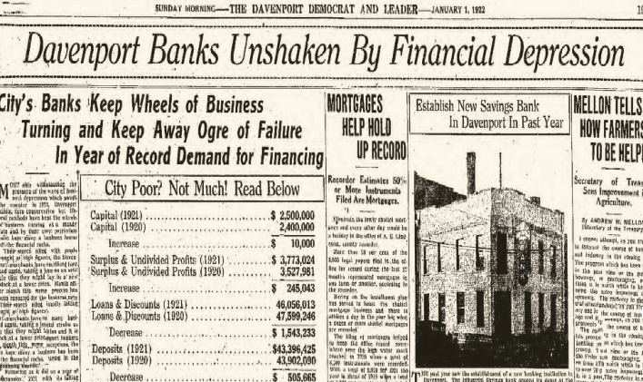 Headlines Financial  1Jan1922