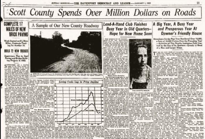 Headlines Misc  1Jan1922