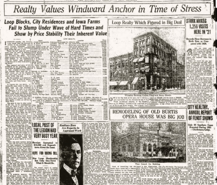 Headlines Realty  1Jan1922