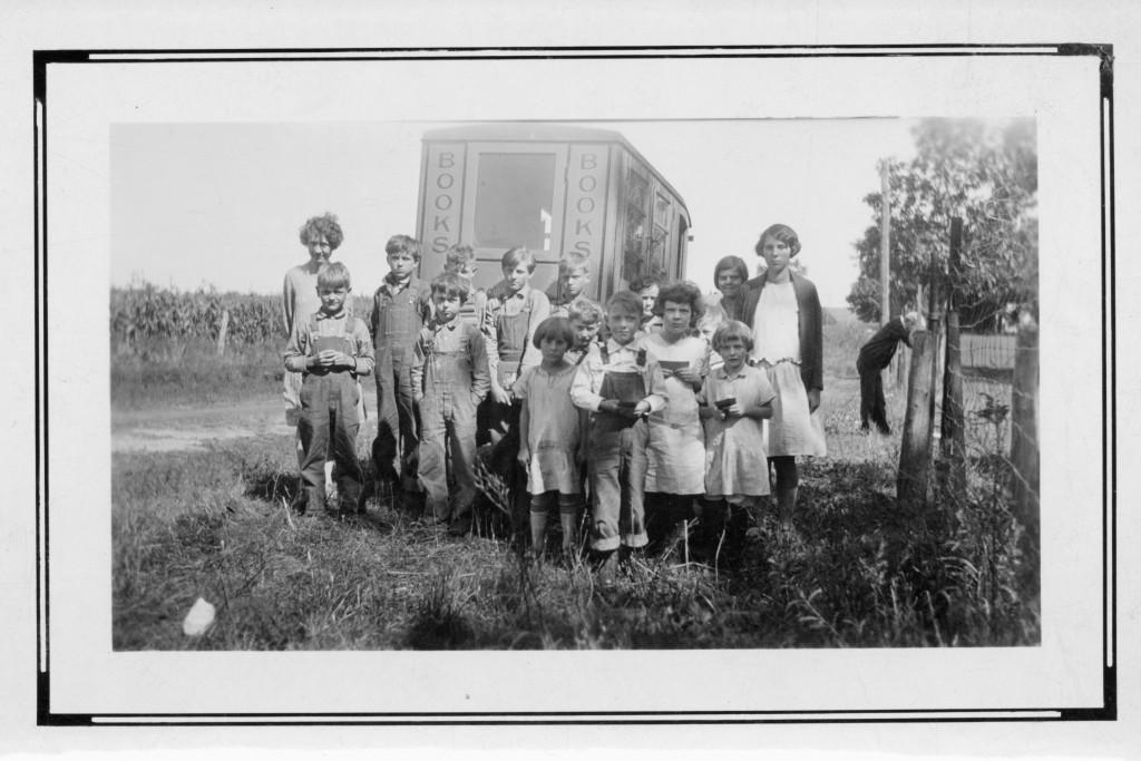 [Hardin Co. IA] School District No. 2. Teacher - Miss Birdie Lee - ca. 1926
