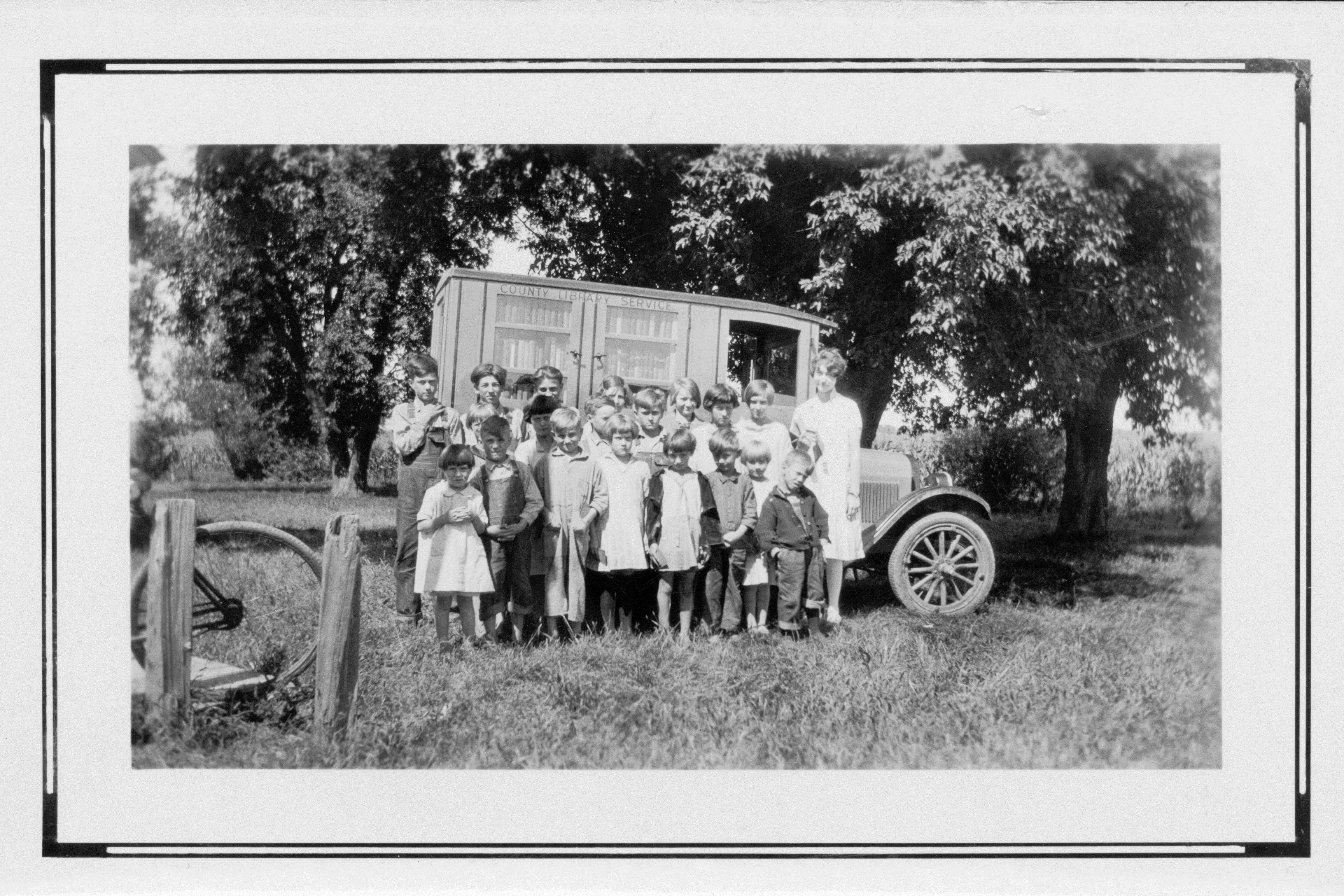 [Hardin Co. IA] School District No. 2. Teacher - Miss Helen Holbrook - ca. 1926