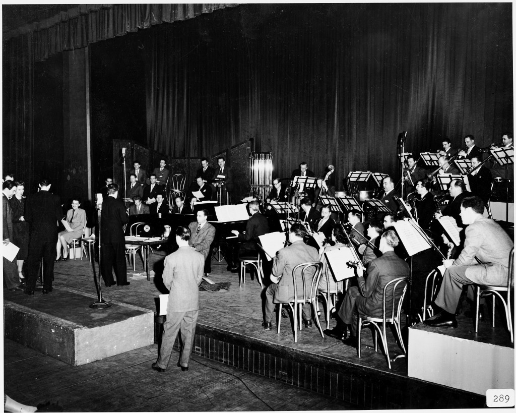 Tri-City Symphony Orchestra radio broadcast live from the Masonic Temple in Davenport, January 31, 1948